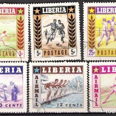 Sellos: LIBERIA 1955 - USADO. Lote 99197807