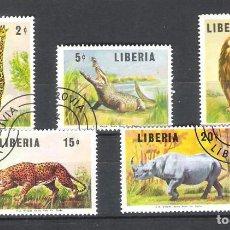 Sellos: LIBERIA.MUY INTERESANTE SERIE COMPLETA. Lote 99941055