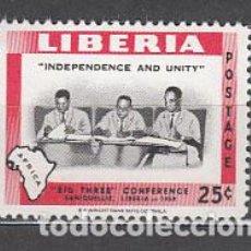 Sellos: LIBERIA - CORREO 1960 YVERT 365 ** MNH. Lote 155947928