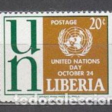 Sellos: LIBERIA - CORREO 1962 YVERT 381 ** MNH ONU. Lote 155947964