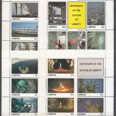 Sellos: LIBERIA - CORREO 1987 YVERT 1059/78 ** MNH. Lote 155948382