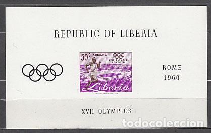 LIBERIA - HOJAS YVERT 16 ** MNH OLIMPIADAS DE ROMA (Sellos - Extranjero - África - Liberia)