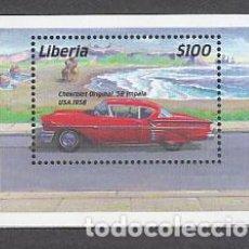 Sellos: LIBERIA - HOJAS YVERT 363 ** MNH AUTOMÓVILES. Lote 155948994