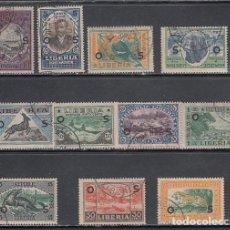 Sellos: LIBERIA - SERVICIO YVERT 108/18 O. Lote 155949102