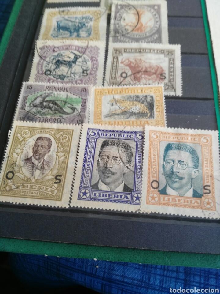 Sellos: Sellos antiguos liberia - Foto 2 - 166694384