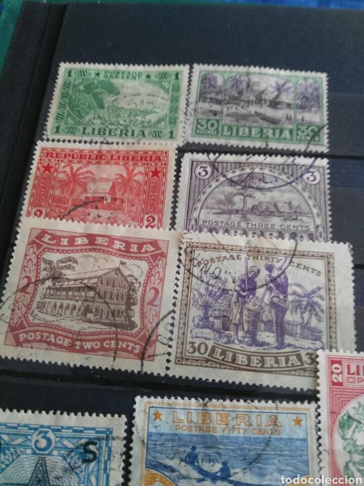 Sellos: Sellos antiguos liberia - Foto 3 - 166694384