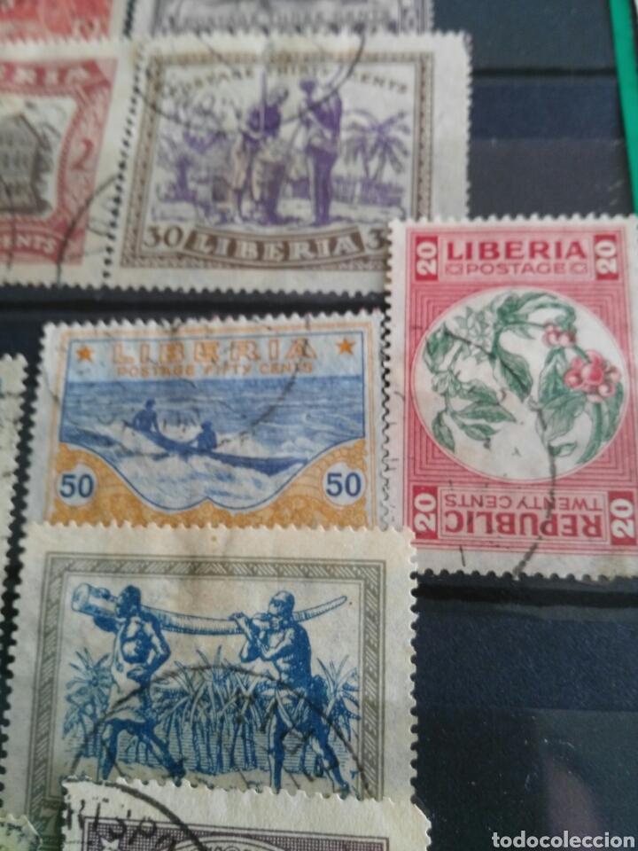 Sellos: Sellos antiguos liberia - Foto 4 - 166694384