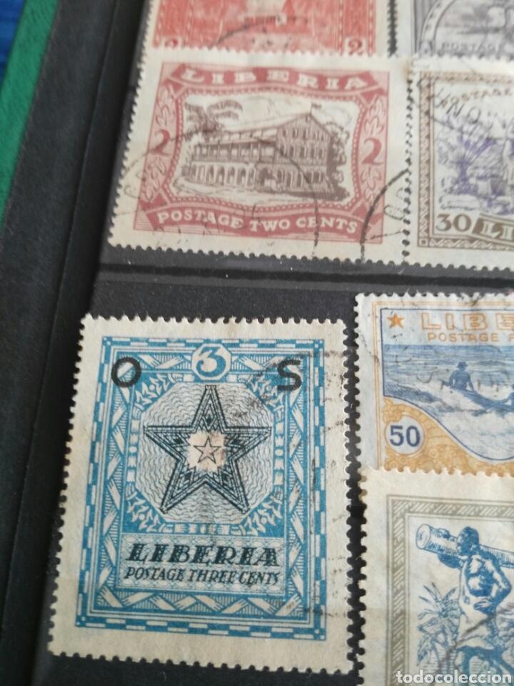 Sellos: Sellos antiguos liberia - Foto 5 - 166694384