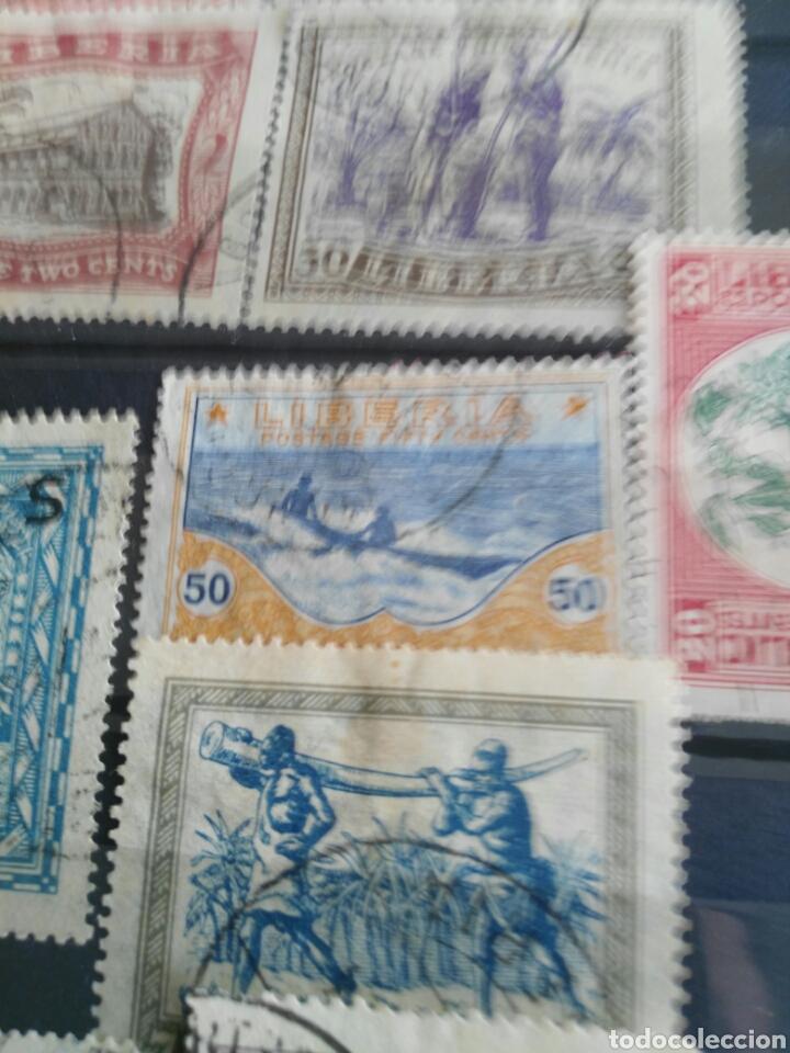 Sellos: Sellos antiguos liberia - Foto 8 - 166694384