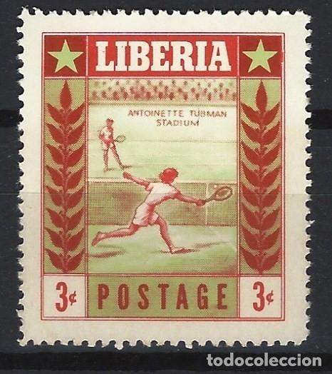LIBERIA 1955 - DEPORTES - SELLO NUEVO ** (Sellos - Extranjero - África - Liberia)