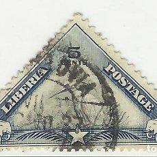 Sellos: SELLO STAMP: LIBERIA 5 CENT. . Lote 175639578