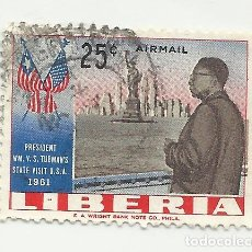 Sellos: SELLO STAMP: LIBERIA 25 CENT.. Lote 175639778