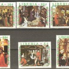 Sellos: LIBERIA 5 VALORES,NUEVOS,SIN FIJASELLOS,GOMA ORIGINAL.. Lote 176135648
