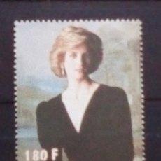 Sellos: LADY DIANA SELLO NUEVO DE LIBERIA. Lote 176555042