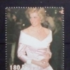 Sellos: LADY DIANA SELLO NUEVO DE LIBERIA. Lote 176555214