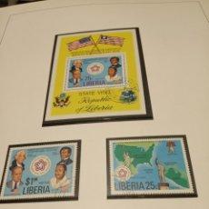 Sellos: LIBERIA. Lote 179115588