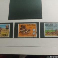 Sellos: LIBERIA. Lote 180147188
