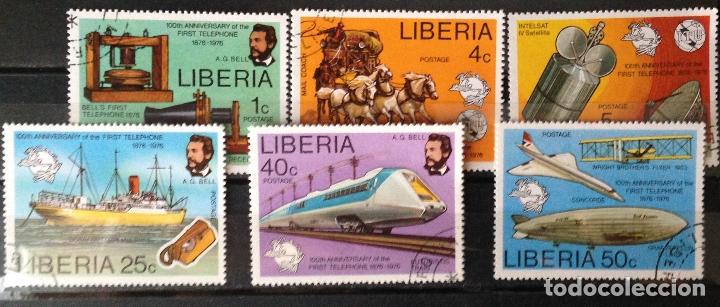 LIBERIA AÑO 1976 SERIE COMPLETA SELLOS NUEVOS MNH (Sellos - Extranjero - África - Liberia)