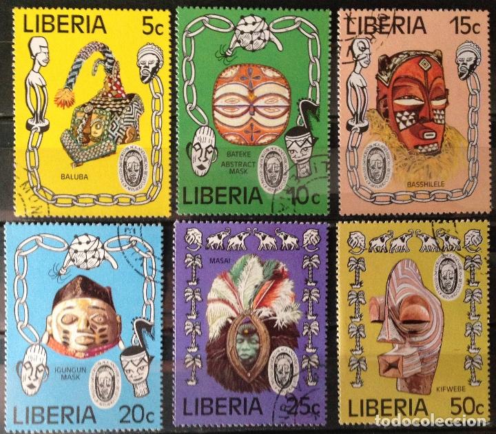 LIBERIA AÑO 1977 SERIE COMPLETA SELLOS NUEVOS M.N.H. (Sellos - Extranjero - África - Liberia)