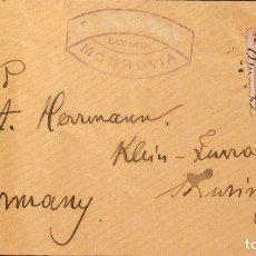 Sellos: LIBERIA. SOBRE YV 31. 1893. 12 CTVOS CARMÍN. MONROVIA A KLEINFURRA (ALEMANIA). AL DORSO LLEGADA. MA. Lote 183145397