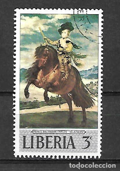 VELÁZQUEZ,DIEGO. PINTOR. . EMIT. AÑO 1969 (Sellos - Extranjero - África - Liberia)