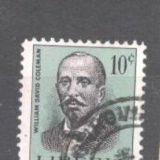 Francobolli: LIBERIA 1966 FAMOUS PEOPLE, USED AE.249. Lote 198272723