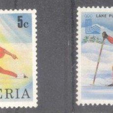 Sellos: LIBERIA 1980 SPORT, OLYMPICS, USED AG.015. Lote 198273106