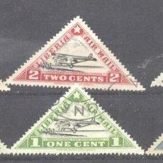 Sellos: LIBERIA 1936 AVIATION, USED A.147. Lote 198273513