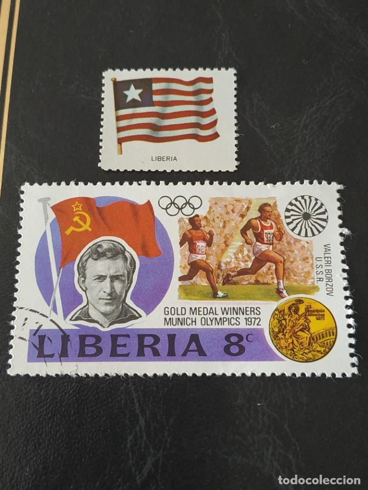 LIBERIA (A) - 1 SELLO CIRCULADO (Sellos - Extranjero - África - Liberia)