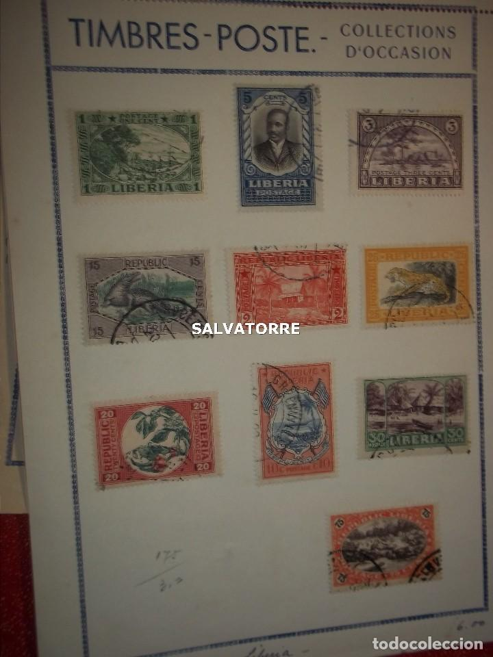 SELLOS LIBERIA. AFRICA. 1920.POSTAGE.1.5.3.15.2.25.20.10.30.75. CENTS. MONROVIA. (Sellos - Extranjero - África - Liberia)