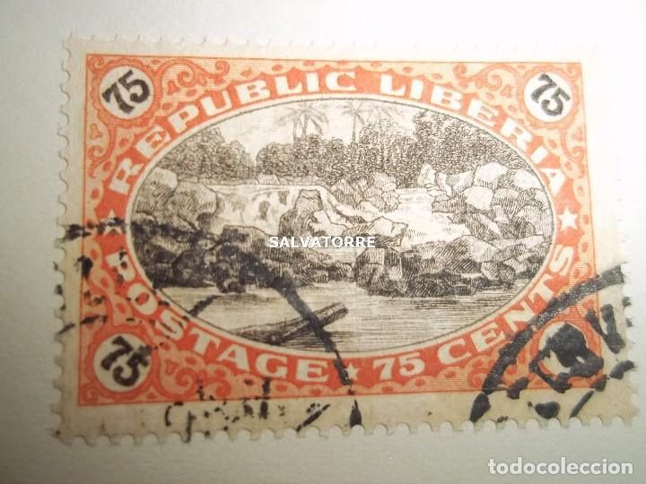 Sellos: SELLOS LIBERIA. AFRICA. 1920.POSTAGE.1.5.3.15.2.25.20.10.30.75. CENTS. MONROVIA. - Foto 2 - 202728328