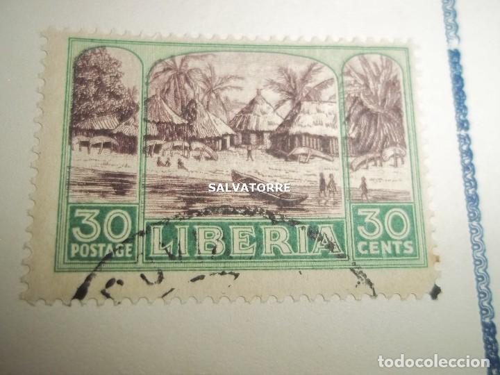 Sellos: SELLOS LIBERIA. AFRICA. 1920.POSTAGE.1.5.3.15.2.25.20.10.30.75. CENTS. MONROVIA. - Foto 4 - 202728328