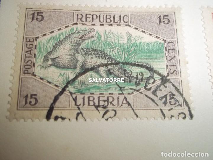 Sellos: SELLOS LIBERIA. AFRICA. 1920.POSTAGE.1.5.3.15.2.25.20.10.30.75. CENTS. MONROVIA. - Foto 5 - 202728328