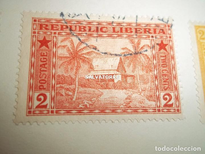 Sellos: SELLOS LIBERIA. AFRICA. 1920.POSTAGE.1.5.3.15.2.25.20.10.30.75. CENTS. MONROVIA. - Foto 6 - 202728328