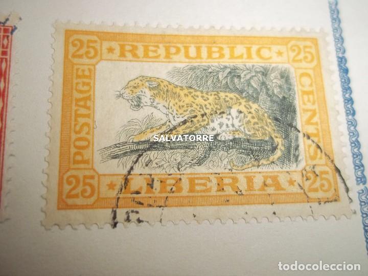 Sellos: SELLOS LIBERIA. AFRICA. 1920.POSTAGE.1.5.3.15.2.25.20.10.30.75. CENTS. MONROVIA. - Foto 7 - 202728328