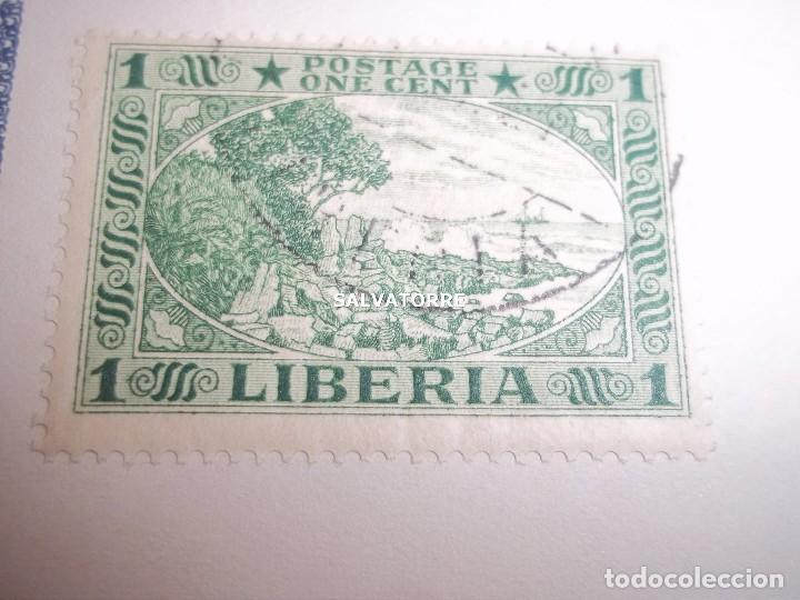 Sellos: SELLOS LIBERIA. AFRICA. 1920.POSTAGE.1.5.3.15.2.25.20.10.30.75. CENTS. MONROVIA. - Foto 8 - 202728328