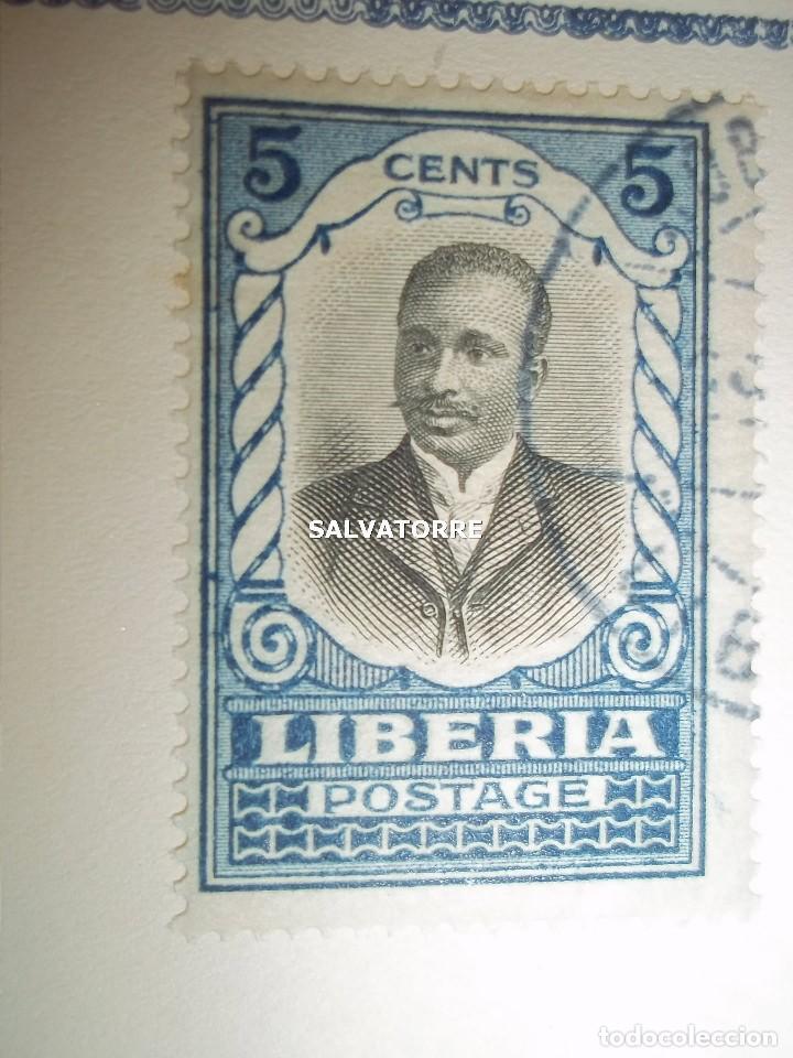 Sellos: SELLOS LIBERIA. AFRICA. 1920.POSTAGE.1.5.3.15.2.25.20.10.30.75. CENTS. MONROVIA. - Foto 10 - 202728328