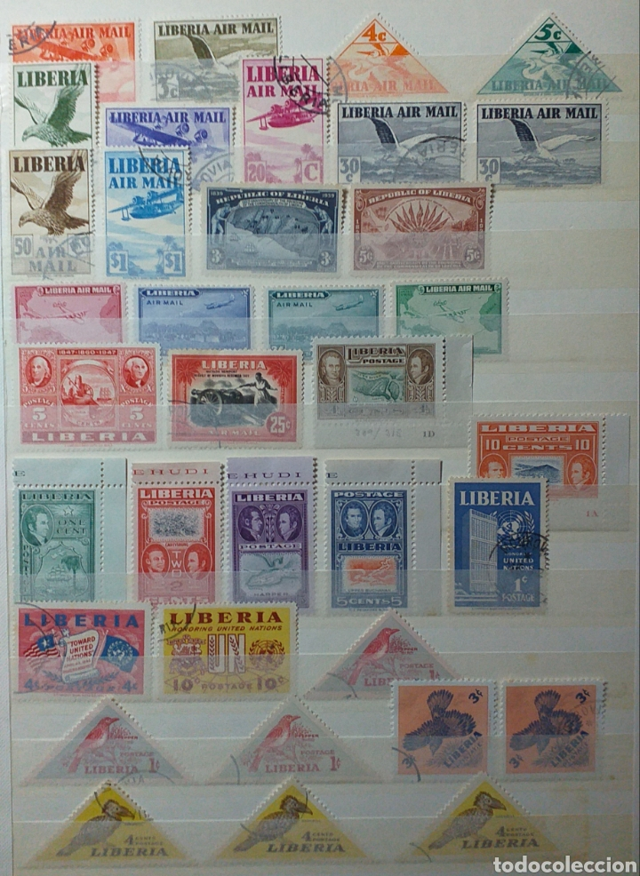 Sellos: Colección de sellos de Liberia - Foto 3 - 204231776