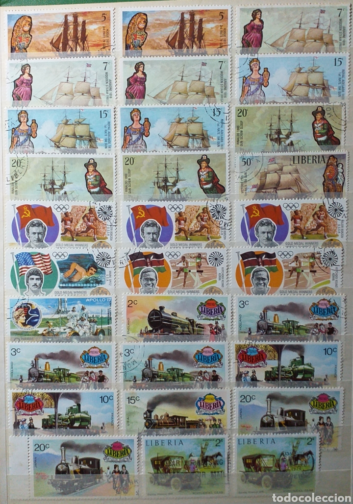 Sellos: Colección de sellos de Liberia - Foto 8 - 204231776