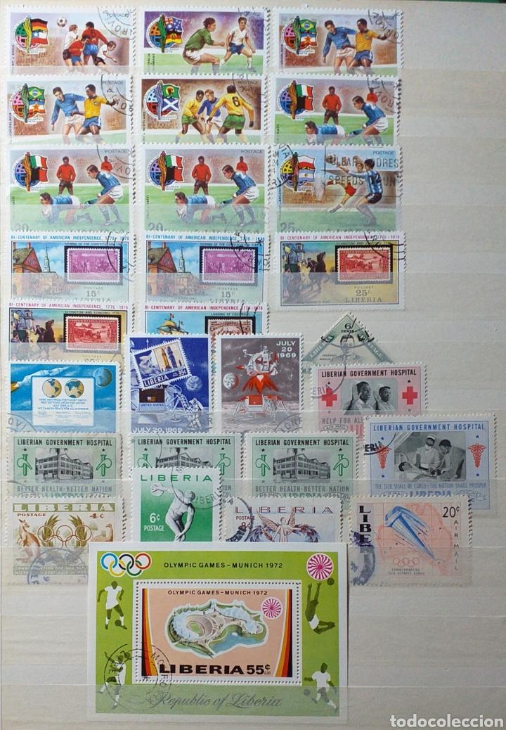 Sellos: Colección de sellos de Liberia - Foto 12 - 204231776