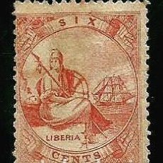 Sellos: LIBERIA 1860 YVERT 1. Lote 205409451
