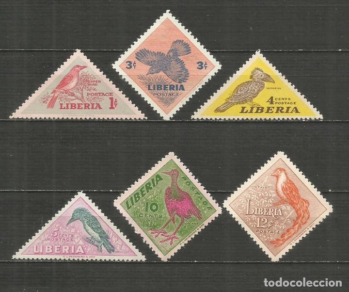 LIBERIA YVERT NUM. 318/323 ** SERIE COMPLETA SIN FIJASELLOS (Sellos - Extranjero - África - Liberia)