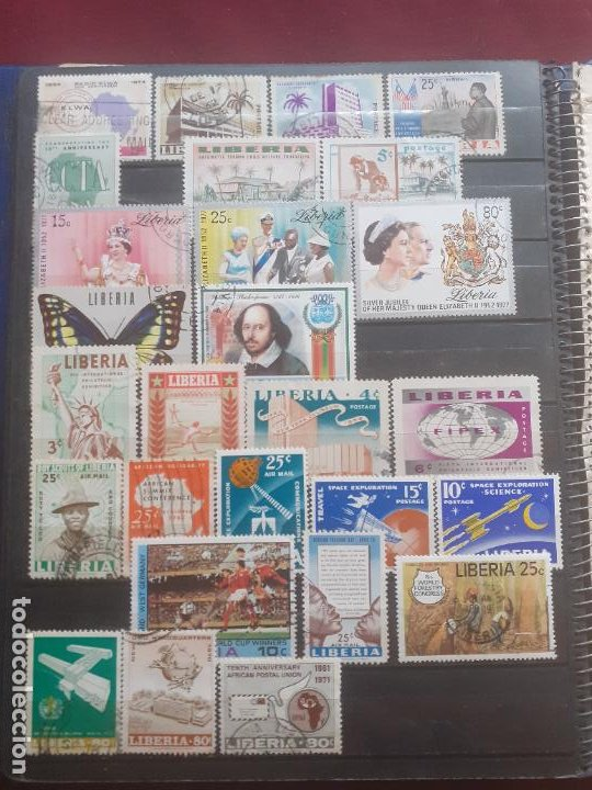 Sellos: Liberia. 86 sellos - Foto 3 - 206933620