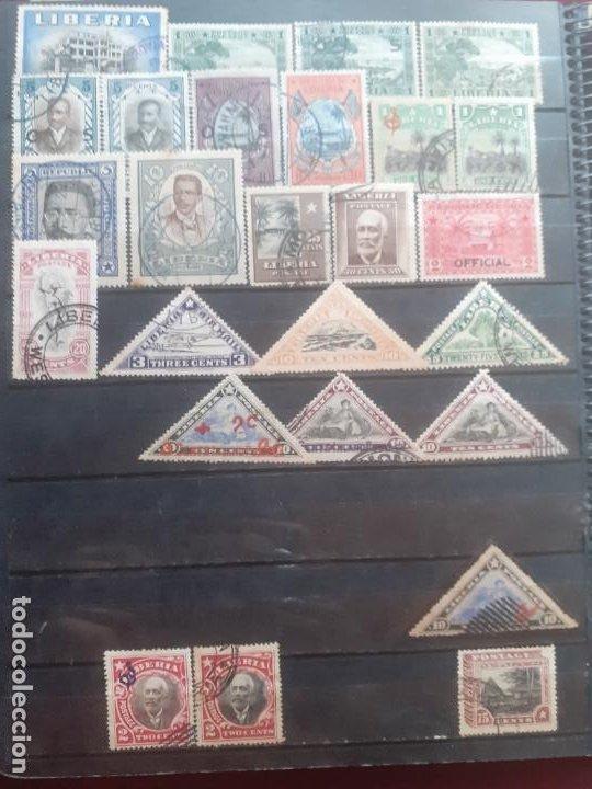 LIBERIA. 86 SELLOS (Sellos - Extranjero - África - Liberia)