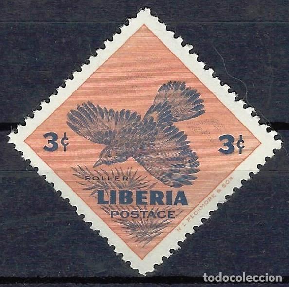 LIBERIA 1953 - AVES, PAJÁRO DE LIBERIA, ARRENDAJO AZUL - SELLO NUEVO C/F* (Sellos - Extranjero - África - Liberia)