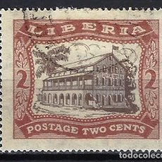 Francobolli: LIBERIA 1923 - TEMAS NACIONALES, CÁMARA DE REPRESENTANTES - SELLO USADO. Lote 209780413