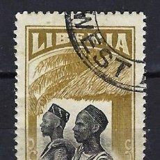 Timbres: LIBERIA 1918 - ASPECTOS NACIONALES, MANDINGOS - SELLO USADO. Lote 209781680