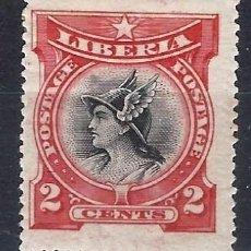 Timbres: LIBERIA 1906 - TEMAS NACIONALES, MERCURIO - SELLO NUEVO C/F*. Lote 209782773