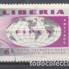 Sellos: LIBERIA, EXPOSICIÓN FILATÉLICA. Lote 249297945