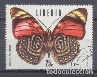 LIBERIA,MARIPOSAS,1974, PREOBLITERADO (Sellos - Extranjero - África - Liberia)